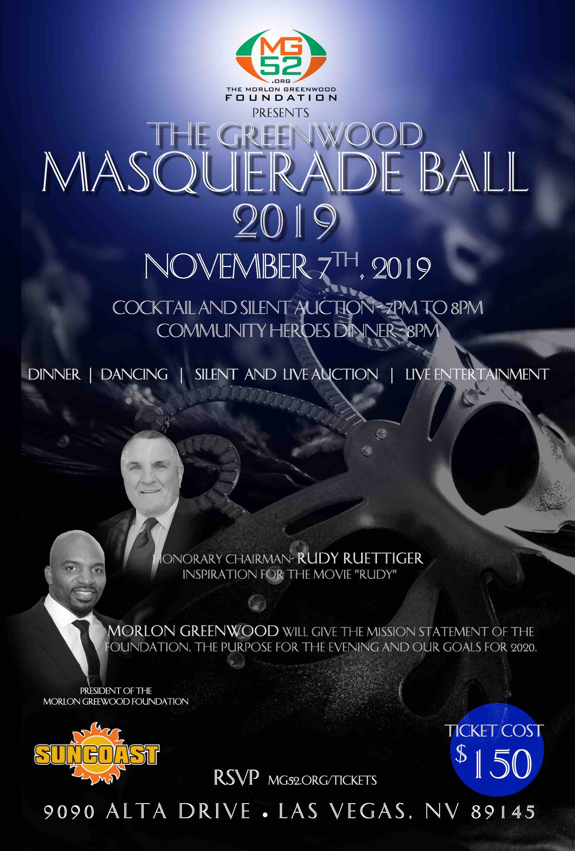 UPCOMING EVENTS   Morlon Greenwood Foundation