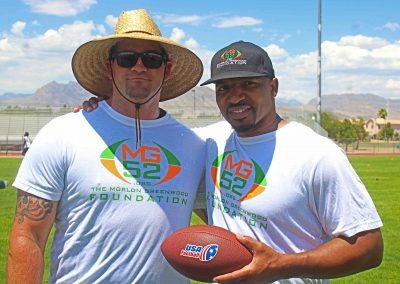 MG Camp Morlon and coach